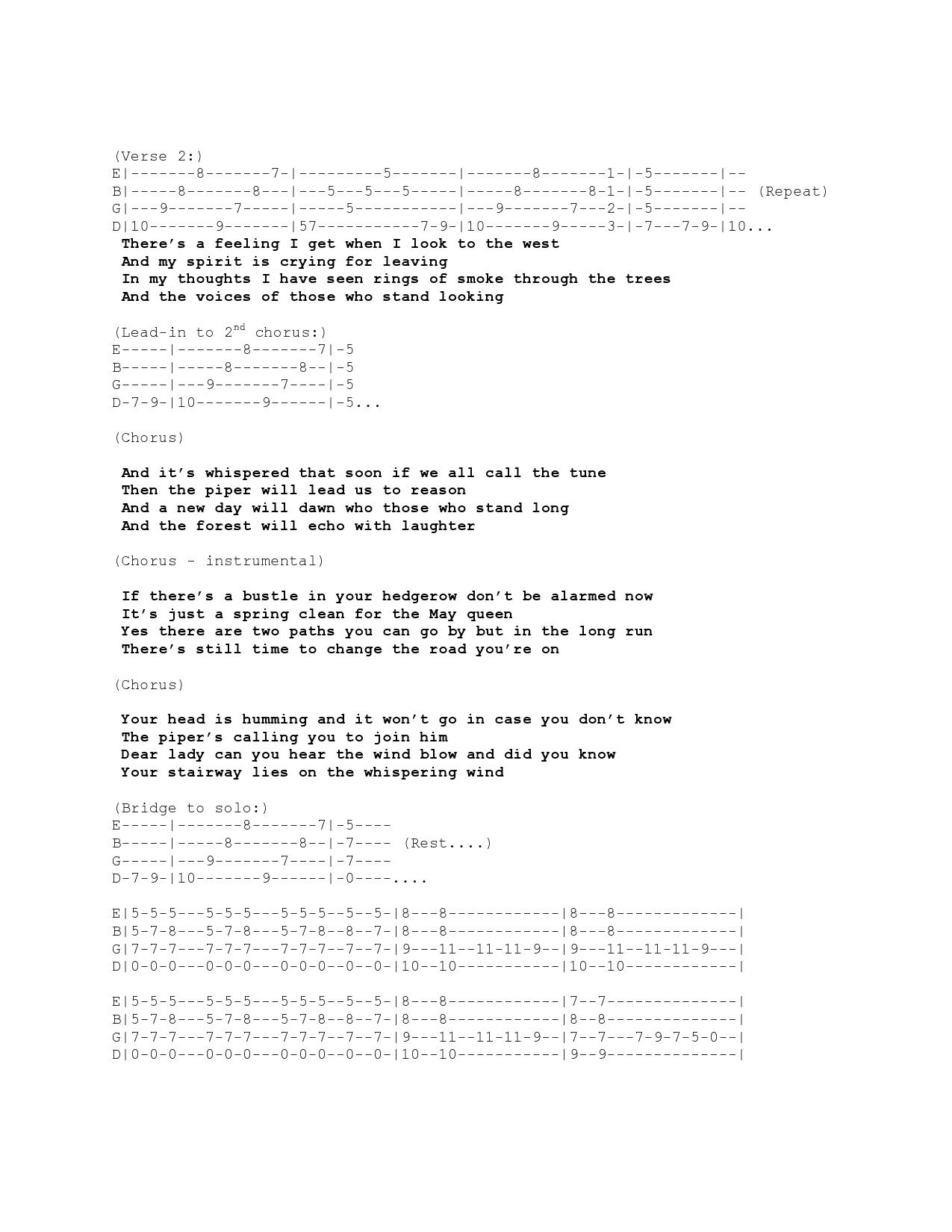 Tabs stairway to honolulu stairway to heaven baritone ukulele tab hexwebz Images